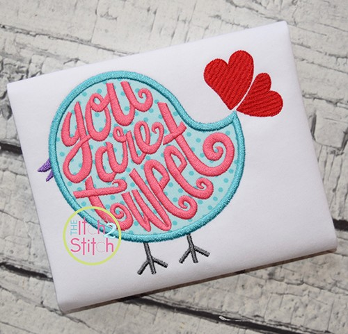 You Are Tweet Applique