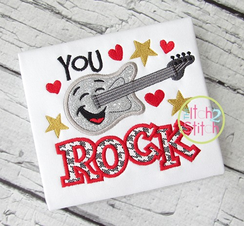 You Rock Applique