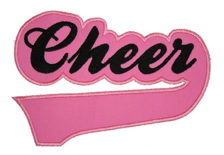 Cheer Sport Tail Applique