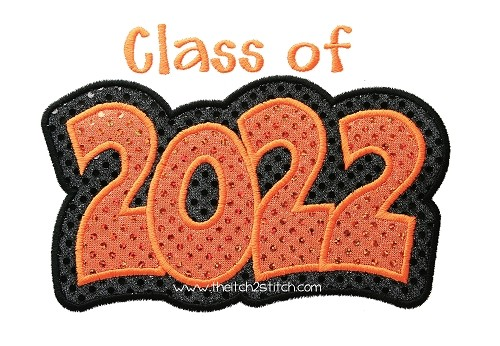 Class of 2022 Double Applique