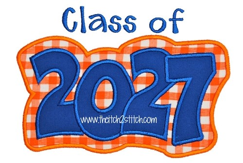 Class of 2027 Double Applique