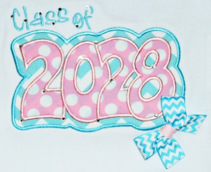 Class of 2028 Double Applique