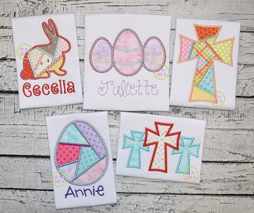 Fancy Easter Applique Design Set