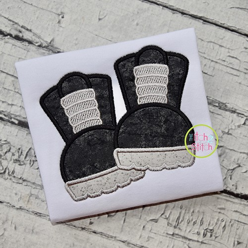Frankie Boots Applique