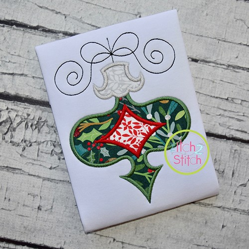 Funky Ornament Applique