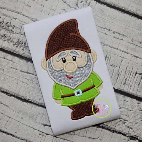 Gnome Boy Applique