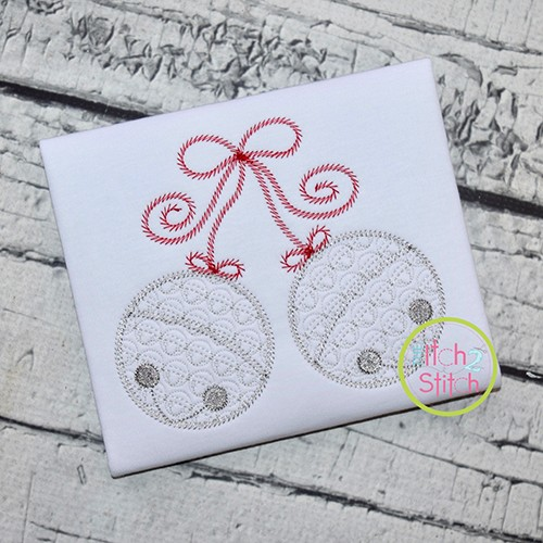 Jingle Bells Motif Embroidery