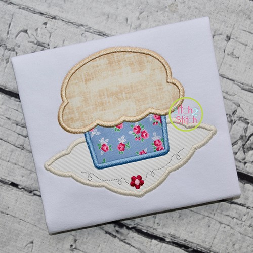 Muffin Napkin Applique