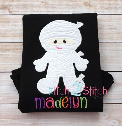 Mummy Applique