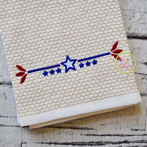 Patriotic Border 2 Embroidery