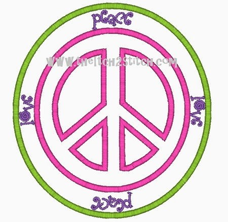 Peace Patch Applique