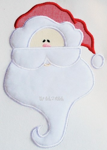 Santa Applique