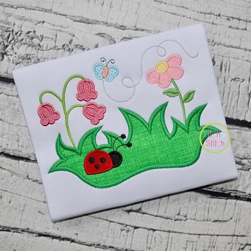 Spring Garden Applique