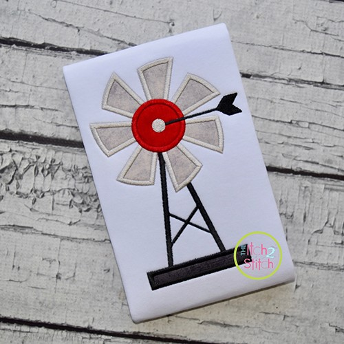 Windmill Applique